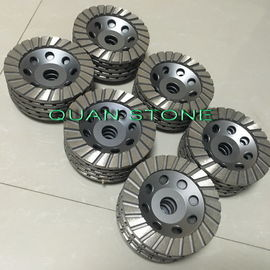 Ripple Cup Wheel Diamond Cup Wheel Aluminium Back Resin Do polerowania
