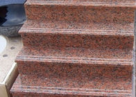 Red Straight Granit Step Treads do Indoor Outdoor Step Finish Opcjonalnie
